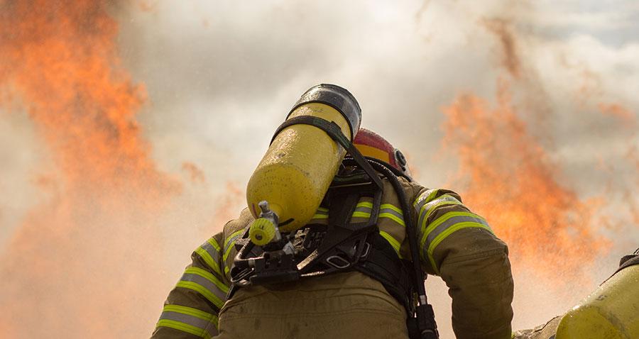 Brandskydd till privata bostäder
